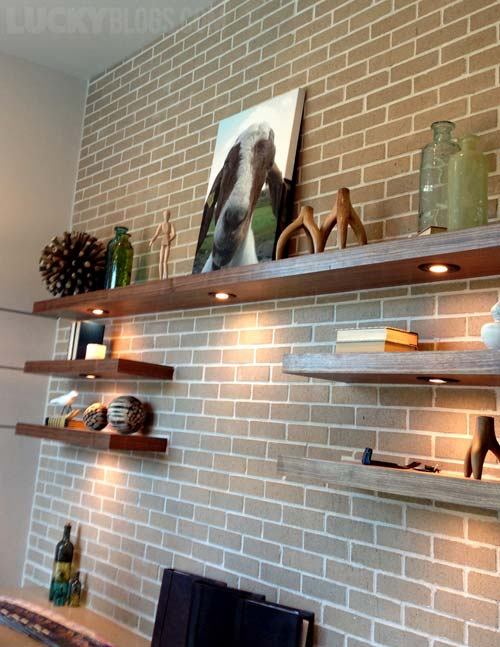 Brick Office Wall Decorating Ideas