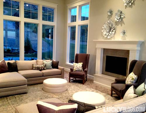Dream Home Decorating Ideas Living Room Great Windows