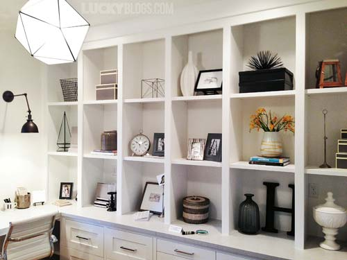 Dream Home Decorating Ideas image credit jeff andrews design Dream Home Decorating Ideas Office Shelving
