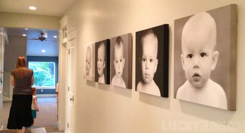 dream-home-decorating-ideas-wall-baby-portraits