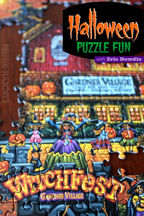 Eric Dowdle puzzle gift for Halloween