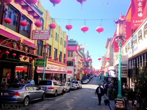 Chinatown San Francisco red lanterns